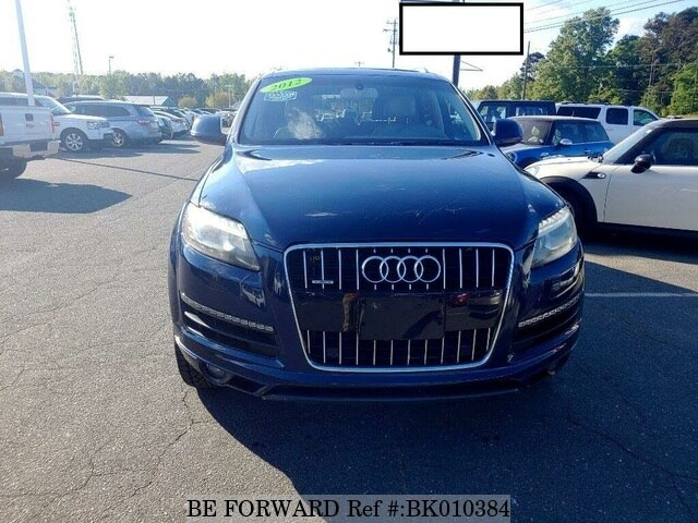 Used 2012 AUDI Q7 BK010384 for Sale