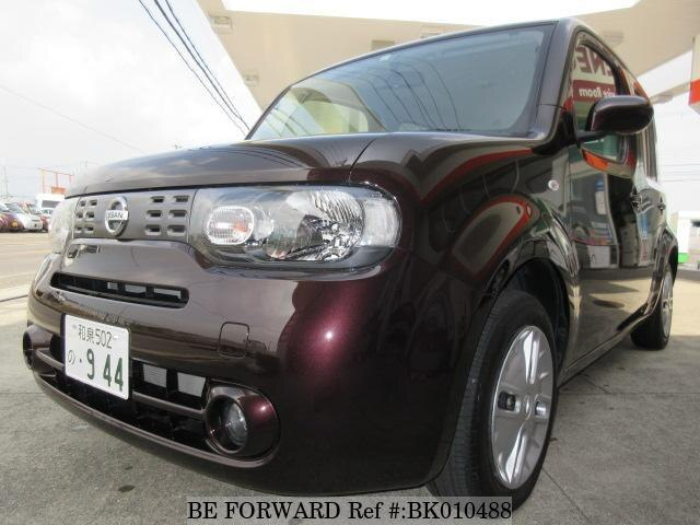 Used 2017 NISSAN CUBE BK010488 for Sale