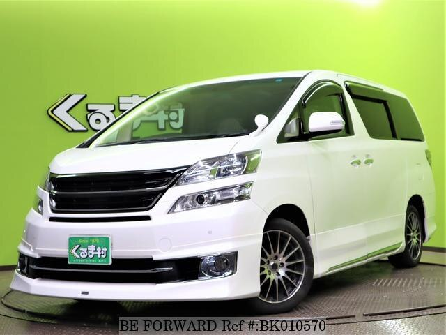 Used 2013 TOYOTA VELLFIRE BK010570 for Sale