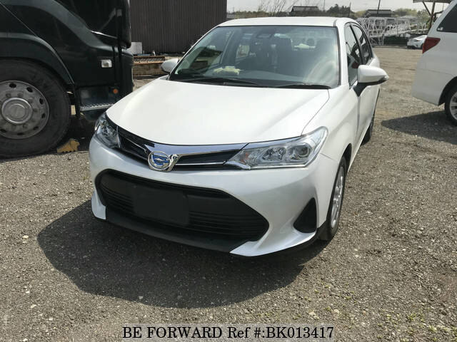 Used 2019 TOYOTA COROLLA AXIO BK013417 for Sale