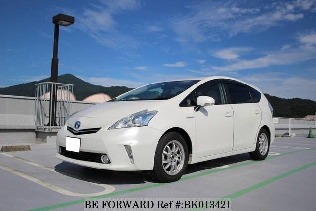 Used 2012 TOYOTA PRIUS ALPHA BK013421 for Sale