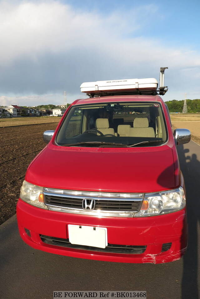 Used 2004 HONDA STEP WGN BK013468 for Sale
