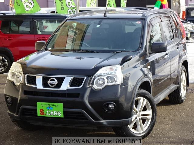 Used 2010 NISSAN X-TRAIL BK013511 for Sale