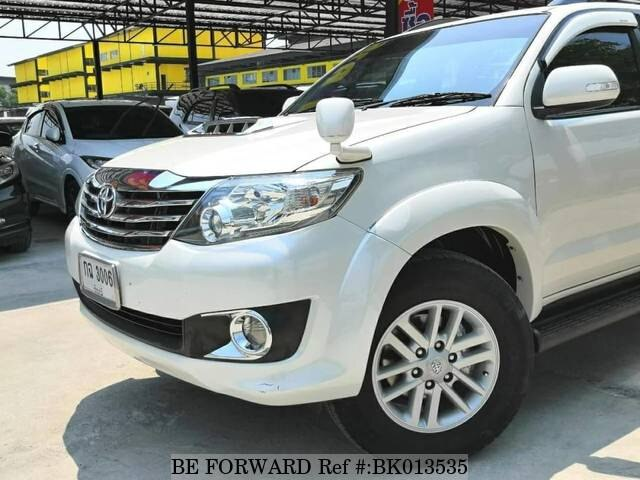 Used 2012 TOYOTA FORTUNER BK013535 for Sale