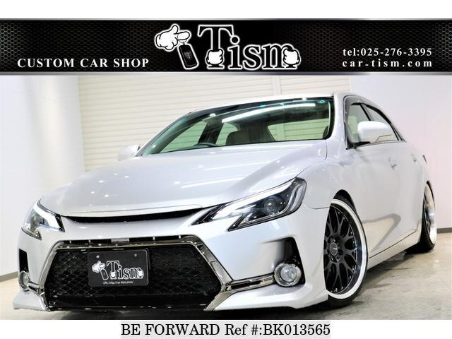 Used 2011 TOYOTA MARK X BK013565 for Sale