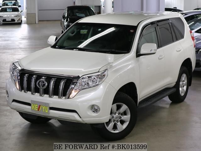 Used 2016 TOYOTA LAND CRUISER PRADO BK013599 for Sale