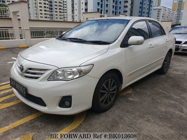Used 2012 TOYOTA COROLLA ALTIS BK013608 for Sale
