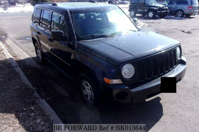 Used 2008 JEEP PATRIOT BK013644 for Sale