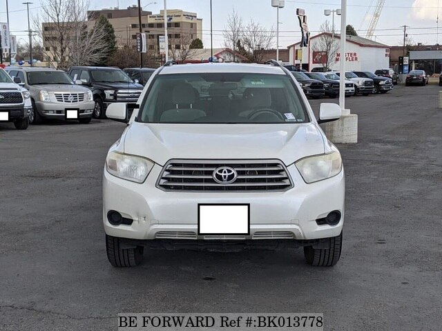 Used 2008 TOYOTA HIGHLANDER BK013778 for Sale