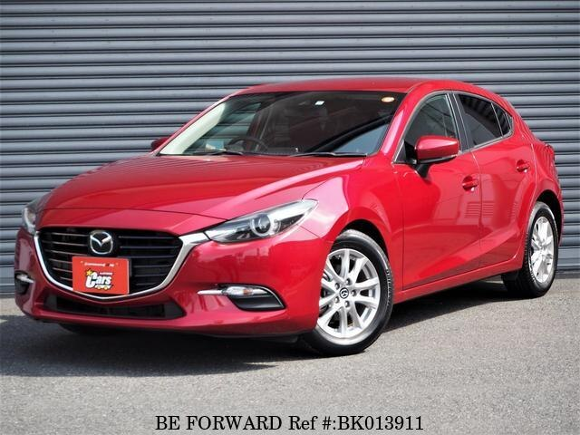 Used 2017 MAZDA AXELA SPORT BK013911 for Sale