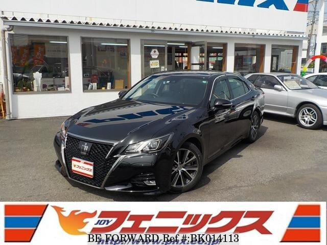 Used 2016 TOYOTA CROWN BK014113 for Sale