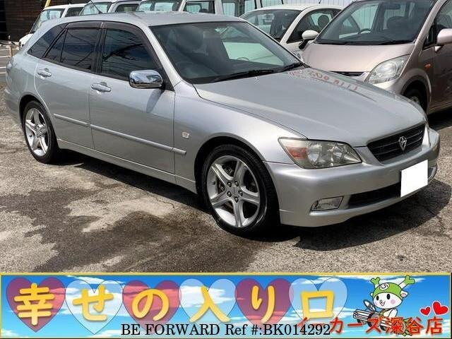 Used 2002 TOYOTA ALTEZZA GITA BK014292 for Sale