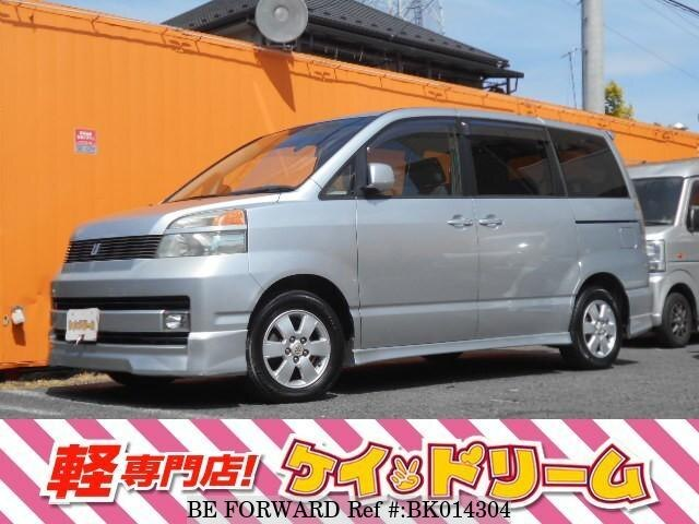 Used 2002 TOYOTA VOXY BK014304 for Sale