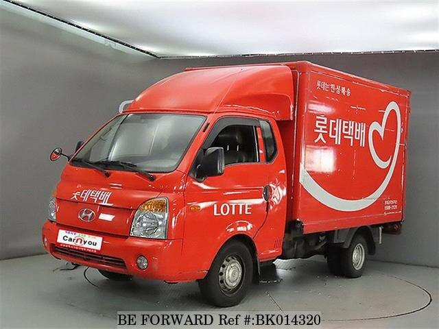 Used 2009 HYUNDAI PORTER BK014320 for Sale