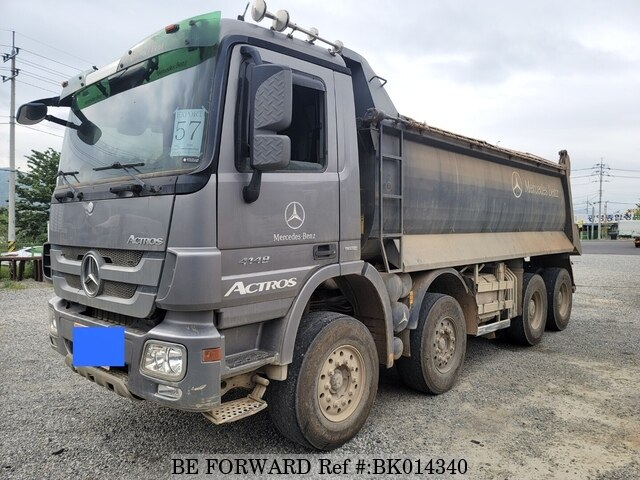 Used 2009 MERCEDES-BENZ ACTROS BK014340 for Sale