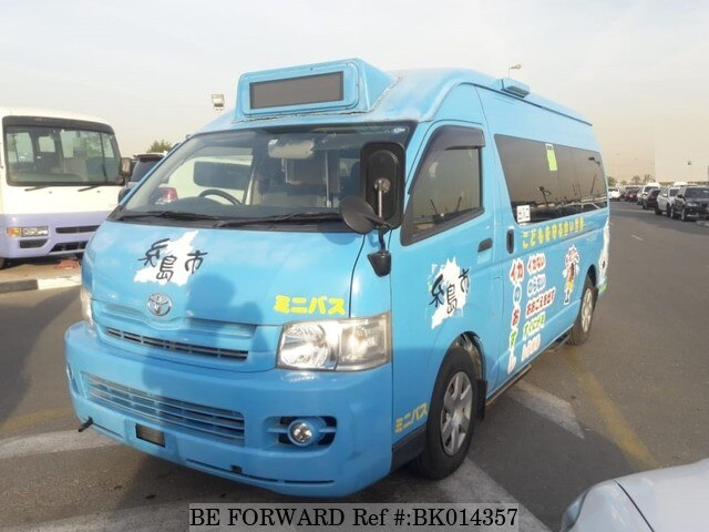 Used 2009 TOYOTA HIACE COMMUTER BK014357 for Sale