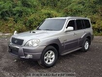 Used 2004 HYUNDAI TERRACAN BF708680 for Sale for Sale