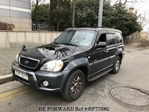 Used 2002 HYUNDAI TERRACAN BF775982 for Sale for Sale