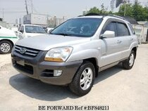 Used 2007 KIA SPORTAGE BF848211 for Sale for Sale