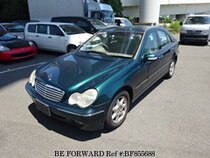 Used 2002 MERCEDES-BENZ C-CLASS BF855688 for Sale for Sale