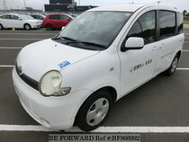 Used 2005 TOYOTA SIENTA BF866992 for Sale for Sale