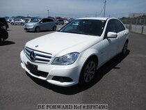 Used 2012 MERCEDES-BENZ C-CLASS BF874581 for Sale for Sale