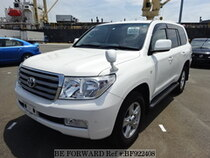 Used 2010 TOYOTA LAND CRUISER BF922408 for Sale for Sale
