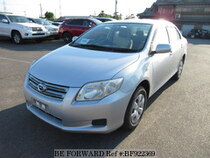 Used 2008 TOYOTA COROLLA AXIO BF922369 for Sale for Sale