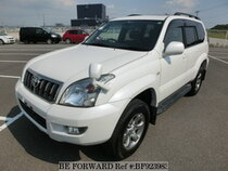 Used 2009 TOYOTA LAND CRUISER PRADO BF923983 for Sale for Sale