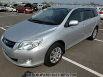 Used 2010 TOYOTA COROLLA FIELDER BF927799 for Sale for Sale