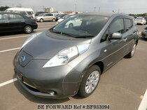Used 2014 NISSAN LEAF BF933094 for Sale for Sale