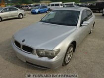 Used 2003 BMW 7 SERIES BF932854 for Sale for Sale