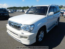 Used 2001 TOYOTA LAND CRUISER BF936639 for Sale for Sale