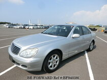 Used 2004 MERCEDES-BENZ S-CLASS BF940380 for Sale for Sale