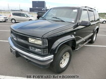 Used 2001 CHEVROLET TAHOE BG000978 for Sale for Sale