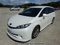 Used 2012 TOYOTA WISH BG001867 for Sale for Sale