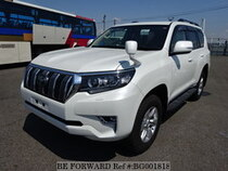 Used 2017 TOYOTA LAND CRUISER PRADO BG001818 for Sale for Sale