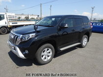 Used 2015 TOYOTA LAND CRUISER PRADO BG001819 for Sale for Sale