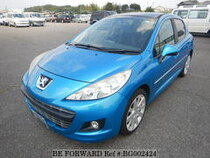 Used 2011 PEUGEOT 207 BG002424 for Sale for Sale