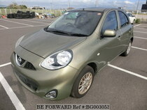 Used 2014 NISSAN MARCH BG003053 for Sale for Sale