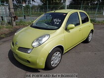 Used 2006 NISSAN MARCH BG003574 for Sale for Sale