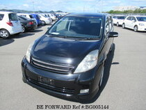 Used 2004 TOYOTA ISIS BG005144 for Sale for Sale
