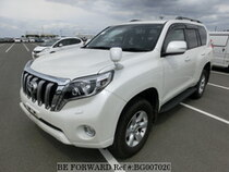 Used 2015 TOYOTA LAND CRUISER PRADO BG007020 for Sale for Sale