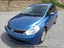 Used 2007 NISSAN TIIDA BG009123 for Sale for Sale