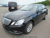 Used 2009 MERCEDES-BENZ E-CLASS BG011010 for Sale for Sale