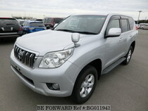 Used 2010 TOYOTA LAND CRUISER PRADO BG011943 for Sale for Sale