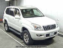 Used 2003 TOYOTA LAND CRUISER PRADO BG015501 for Sale for Sale