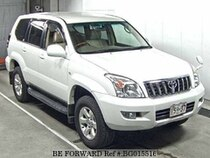 Used 2004 TOYOTA LAND CRUISER PRADO BG015516 for Sale for Sale