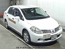 Used 2009 NISSAN TIIDA LATIO BG015534 for Sale for Sale