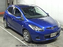Used 2007 MAZDA DEMIO BG015544 for Sale for Sale